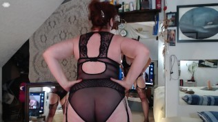 V127 Dirty talking redhead MILF teases you to deliciously naughty playtime