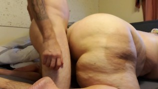 Sucking, Fucking, and an anal creampie.